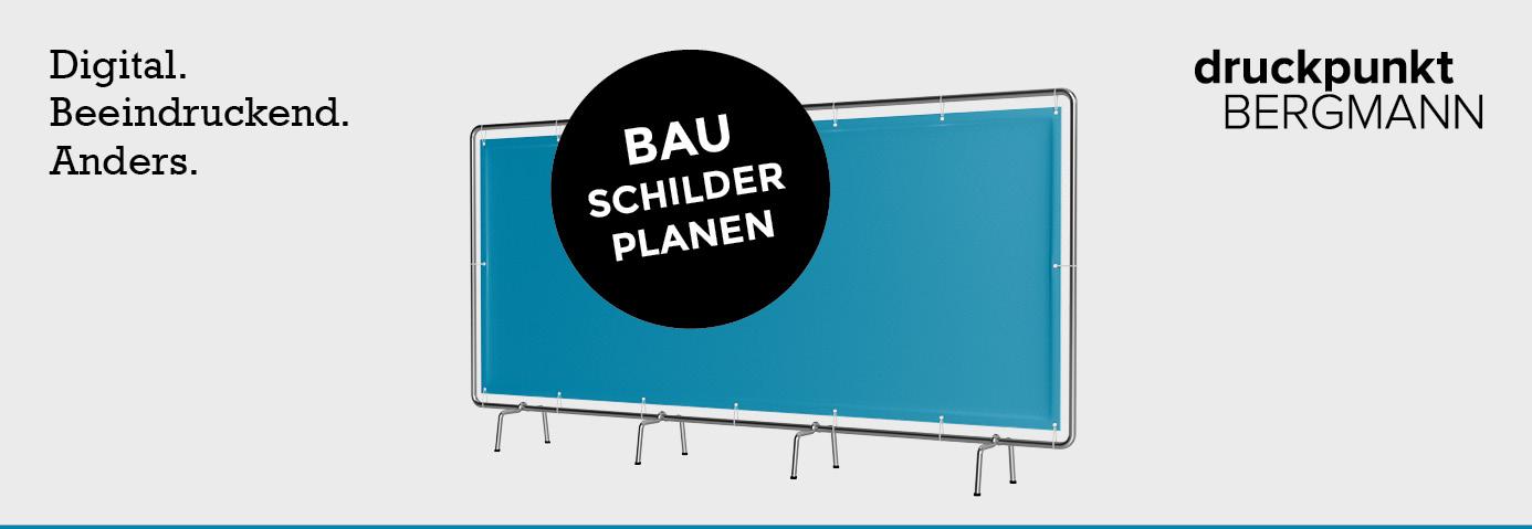 Bauschilder & Bauplanen